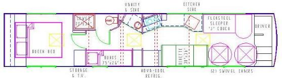 BNO BBS BNOs Bulletin Board System Bus Floor Plans