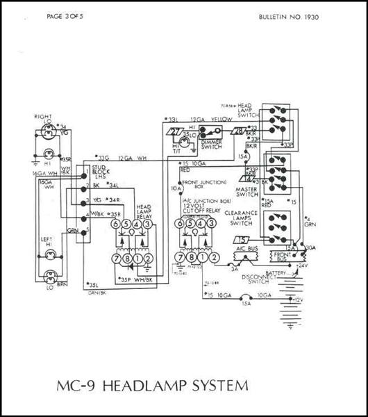 mci bus wiring schematic   24 wiring diagram images